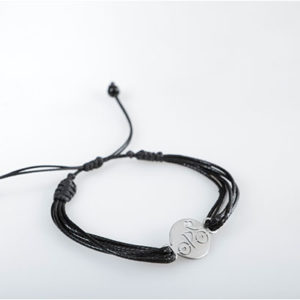 Pulsera de Cuero Bike Girls Grande